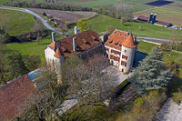 Schloss Bavois, Chateau de Bavois, Bavois, Waadt, Schweiz