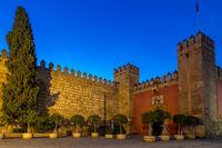 Eingangstor zum königlichen Alcazar, Sevilla, Andalusien, Spanien, Europa