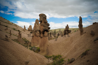 Close-up view to Devrent valley aka valley of imagination, Cappadocia, Turkey