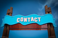Street Sign to Contact