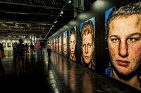 Bruce Gilden portraits exhibition in the Photokina