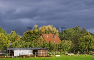Bauernhofidylle in Schleswig-Holstein