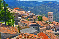 The village of Bova in the Province of Reggio Calabria