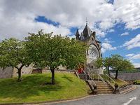Die Pfarrkirche in Pitlochry in Schottland