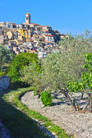 The village of Badolato in the Province of Catanzaro