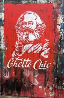 ghetto chic, karl marx, coca cola parodie
