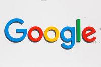 Google logo sign headquarter headquarters HQ Mountain View