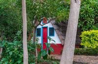 Farmer house at Funchal botanical garden
