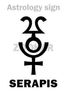 Astrology: SERAPIS (Hellenistic Graeco-Egyptian god)