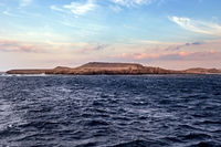 Mountain rock landscape Sharm el sheikh, Egypt.