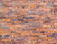 Jointless brick wall texture