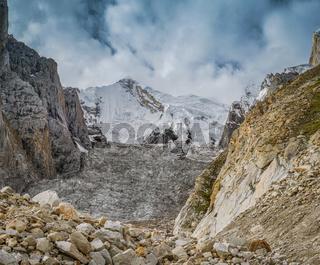 Majestic glacier in Karakoram