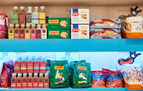 KÖLN, OKTOBER 2019: Argentinische Lebensmittel auf ANUGA Messe