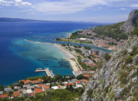 Omis Town Croatia