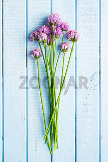 Chives with Flowers