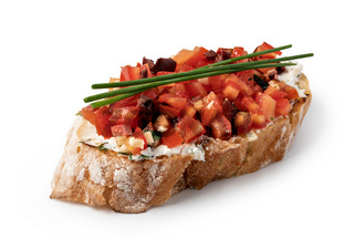 Traditional spanish Bruschetta
