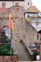 Eisentor Eingang Burg Alzenau