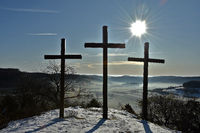 Drei Kreuze auf dem Kornbühl, Schwäbische Alb