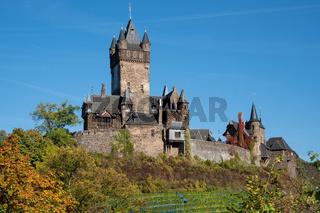 Cochem castle, Germany, Europe