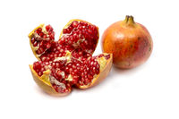 White pomegranate