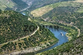 Blick in das Douro Tal, Portugal