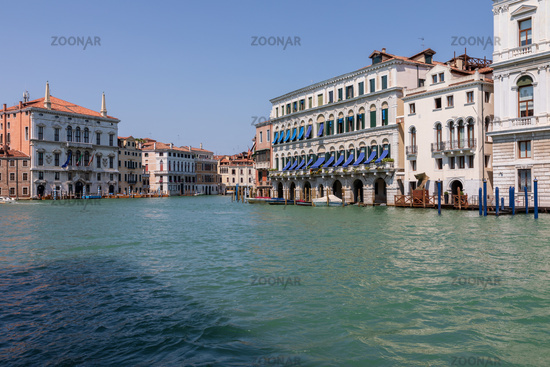 Panoramic view of Grand Canal (Canal Grande)
