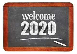 Welcome 2020 on blackboard