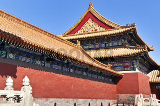 China Beijing Forbidden City Building