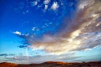 Sturm und Regen ziehen auf, Kgalagadi-Transfrontier-Nationalpark, Südafrika | Storm is coming, Kgalagadi Transfrontier National Park, South Africa