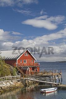 Bootshütte auf Ertvagoy