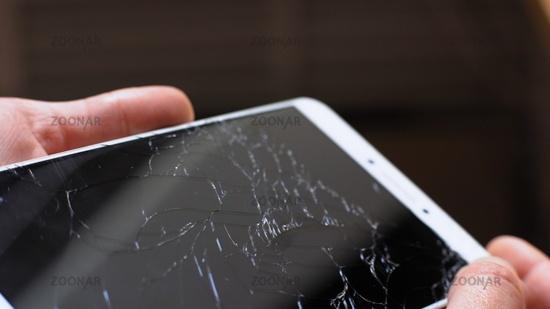 Xiaomi MI Max broken phone turning in hands