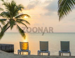 Sunrise On Dream Beach Vacation