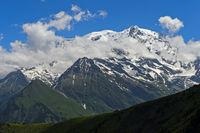 Mont Blanc Massiv, Chamonix, Frankreich