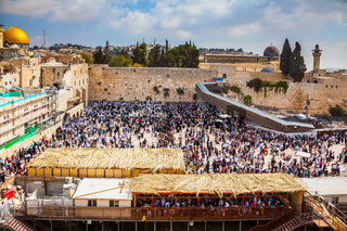 The huge crowd for a prayer