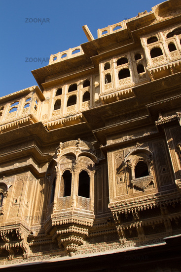 Jaisalmer. Fortress and residence of Maharajah of 12th century