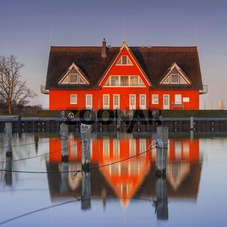 Haus am Yachthafen in Vieregge - Ruegen