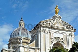 Santa Maria degli Angeli in Assisi, Italien