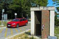 Denkmal Tor zur Freiheit am einstigen Eisernen Vorhang, Fertörakos, Ungarn, Sankt Margarethen, Öster
