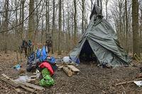Protestcamp gegen die Waldrodung... Hambacher Forst *Nordrhein-Westfalen*