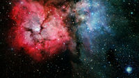 A glorious, rich star forming nebula. Elements of this image furnished by NASA