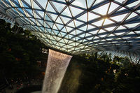 The Iconic Jewel at Changi Airport in Singapore