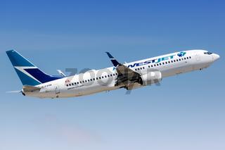Westjet Boeing 737-800 airplane