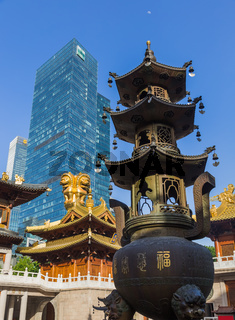 Jing An temple - Shanghai China