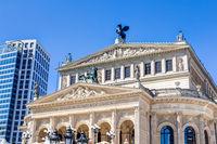 Alte Oper in Zentrum von Frankfurt am Main