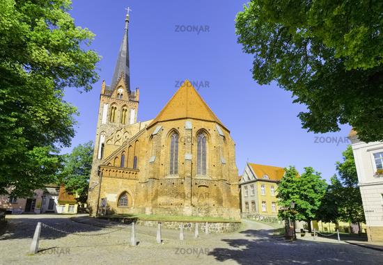 Stadtpfarrkirche St. Nikolai, Bad Freienwalde, Brandenburg, Deutschland