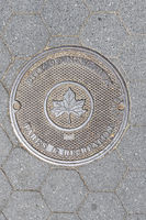 Manhole Cover in New York, New York