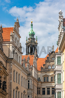 Hofkirche and Residential Castle in Dresden