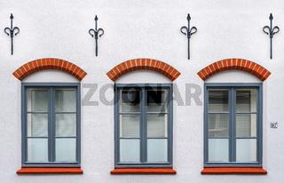 Luebecker Fassadendetail