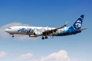 Alaska Airlines Boeing 737-800 airplane