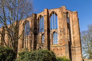 Ruine, Johanniskloster, Stralsund, Deutschland